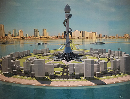 Menorah Island Tower