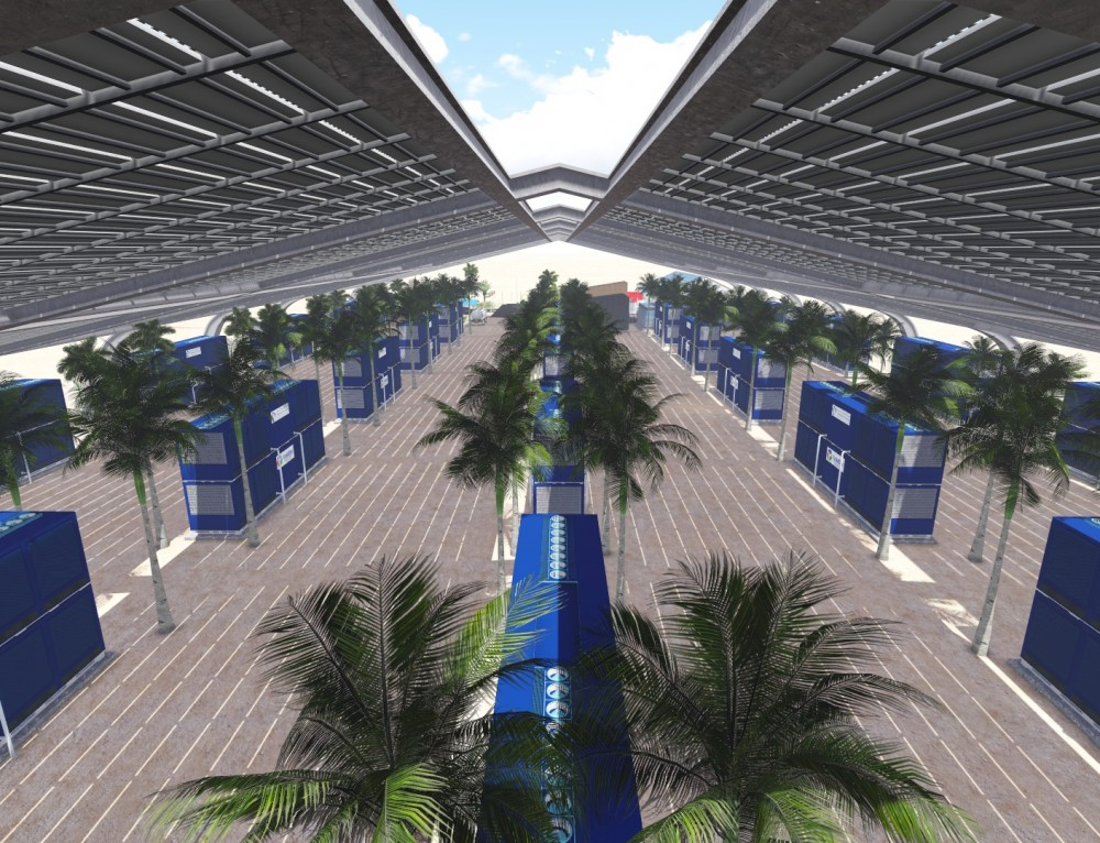 EcoloBlue's Forward Thinking Technology Could Be A Perfect Fit For Artificial Islands Projects Around the World