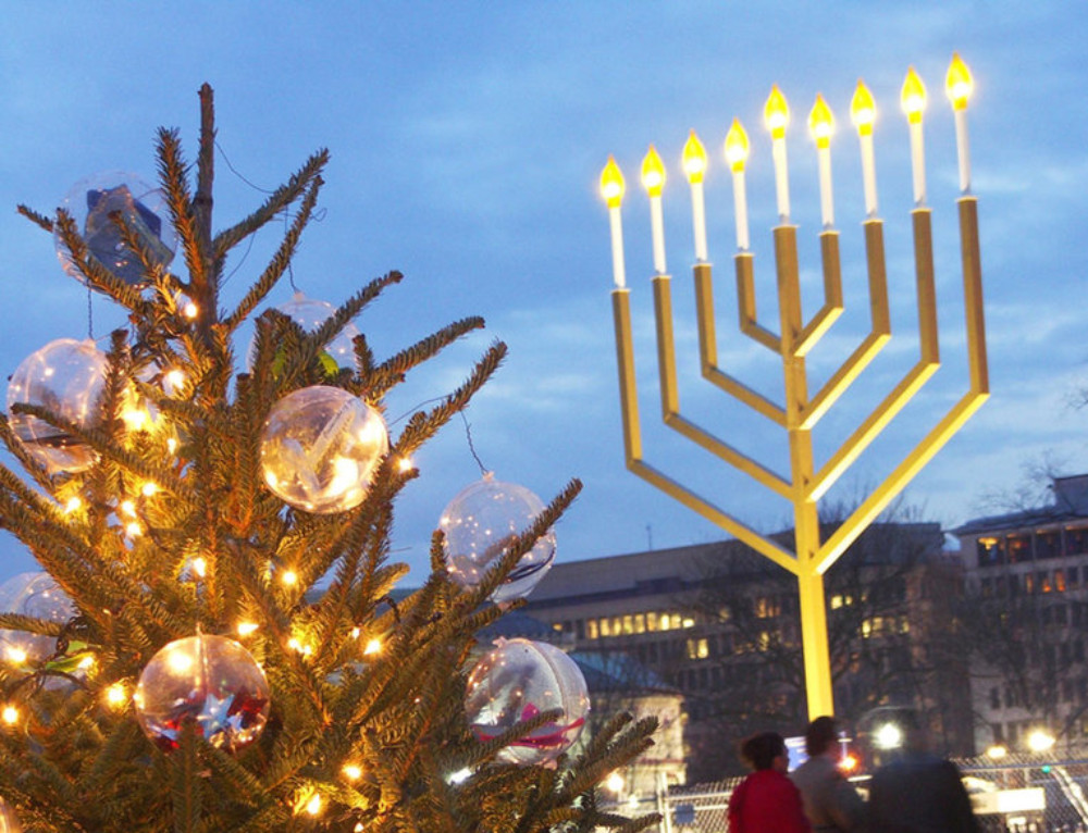 Celebrating the miracles of Christmas and Hanukkah all season long